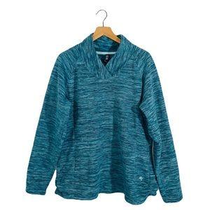 Mountain hardwear plush pullover sweatshirt XL